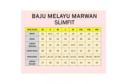 Baju Melayu Slim Fit Warna Dusty Purple